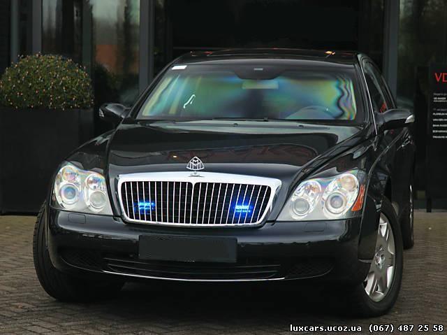 Продажа автомобилей Maybach в Одессе…